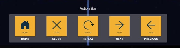 Action Bar Element